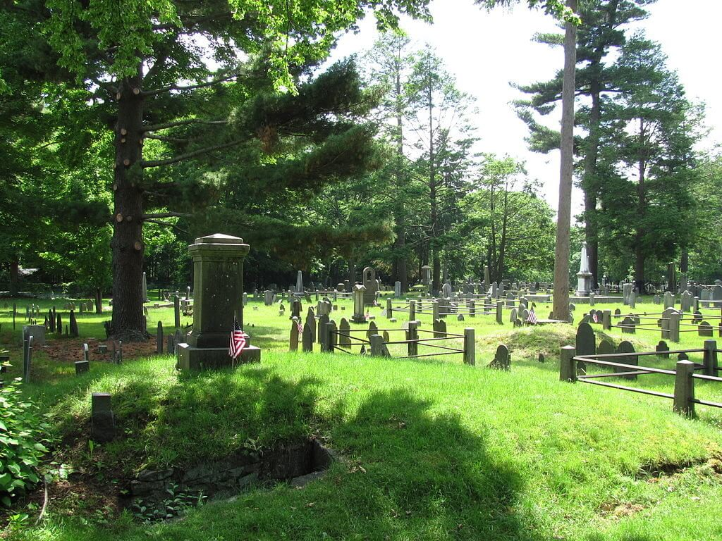 Old Village Cemetery, Dedham Massachusetts