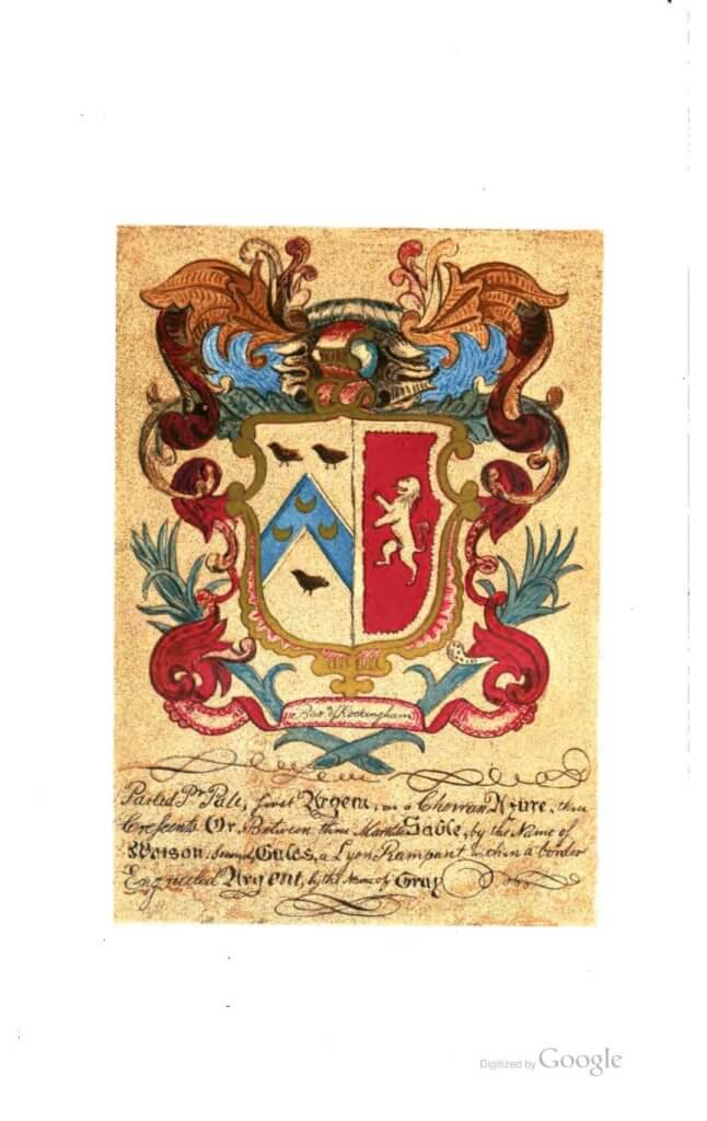 Watson Coat of arms