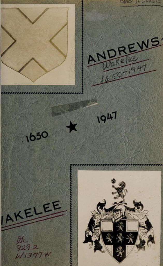 Andrews Wakelee 1650 1947