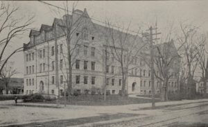Newton High School in 1910