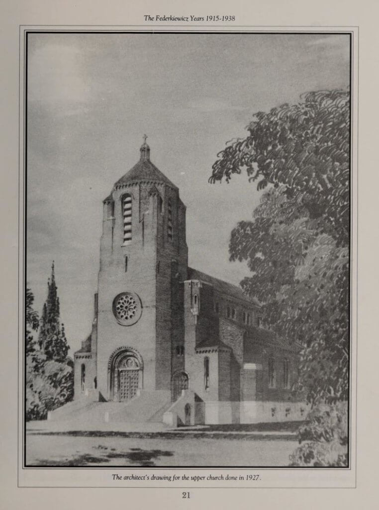 Saint Adalbert Church, Enfield, Connecticut in 1927
