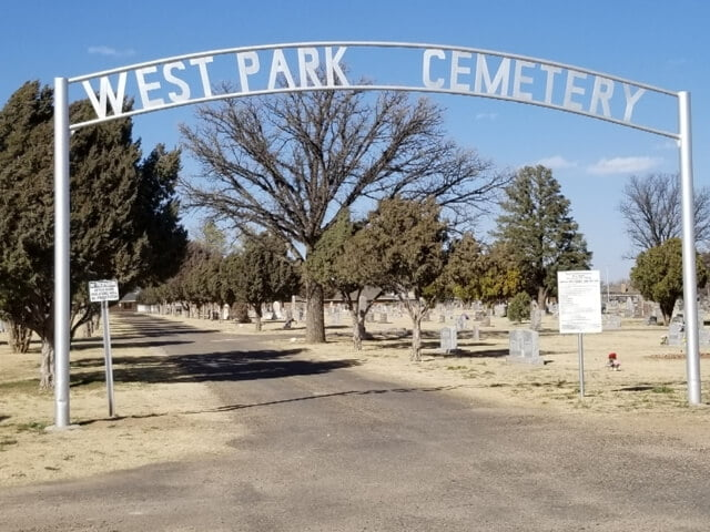 West Park Cemetery, Hereford, Deaf Smith County, Texas