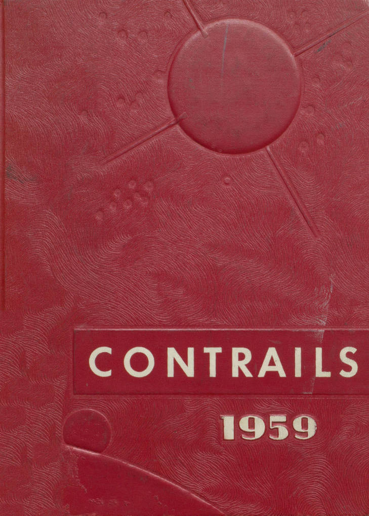 1959 Contrails, Banks High School Yearbook, Birmingham Alabama
