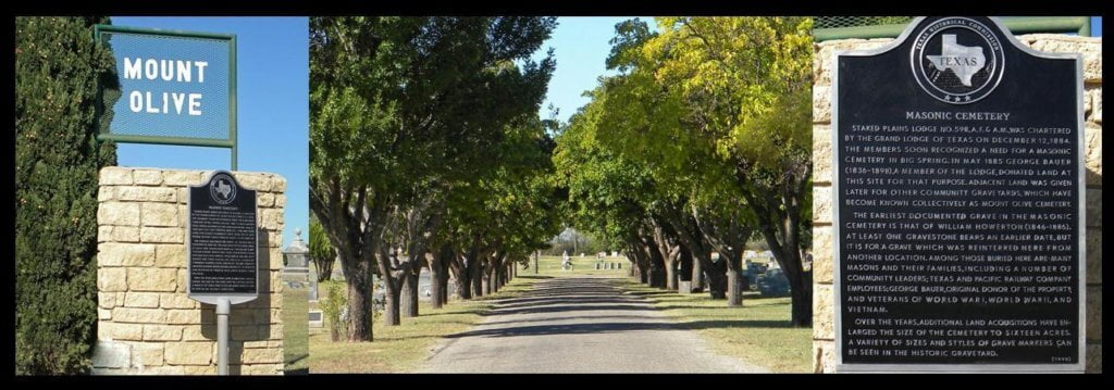 Mount Olive Cemetery, Big Spring, Texas