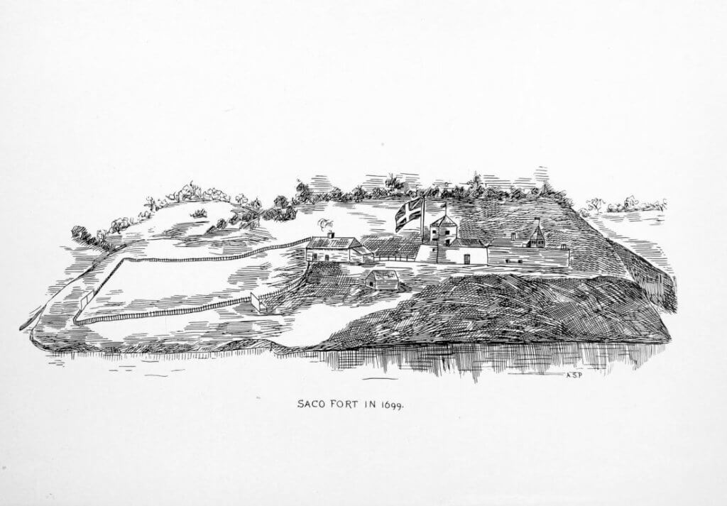 Saco Fort in 1699