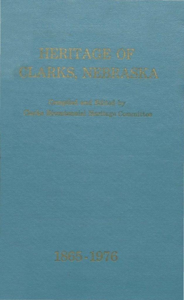 Heritage of Clarks Nebraska