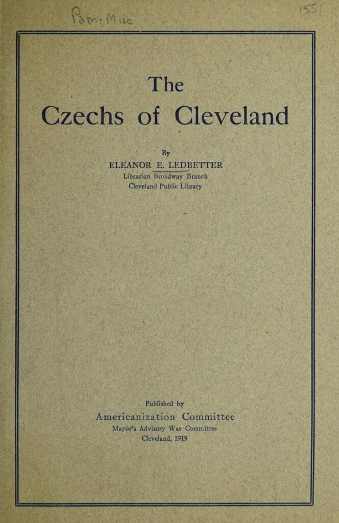 The Czechs of Cleveland