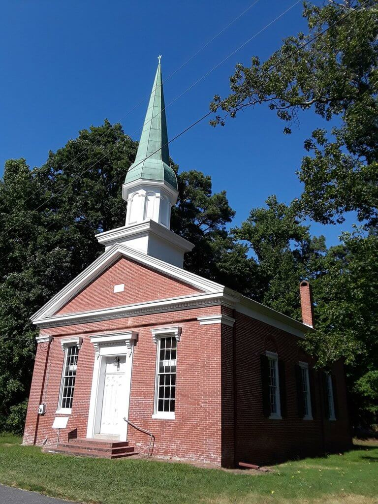 Bethlehem Methodist Episcopal Church on Taylors Island, Maryland