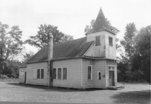 Malone Methodist-Episcopal Church as it appeared in 1981 - Maryland Historical Trust D-596 February 1981